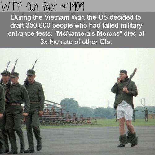 McNamera's Morons - WTF fun facts