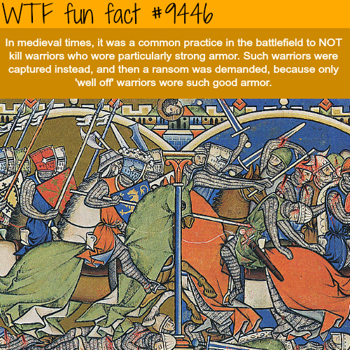 Medieval Times - WTF fun fact
