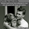 men who are good with babies and dogs wtf fun