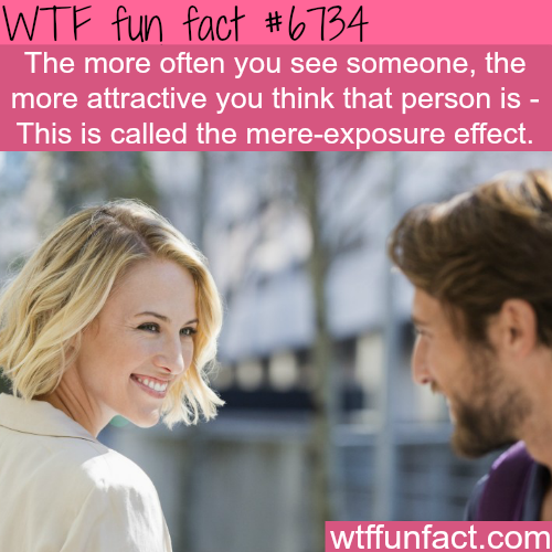Mere-exposure effect - WTF fun fact