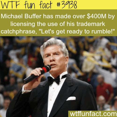 Michael Buffer Net Worth - WTF fun facts