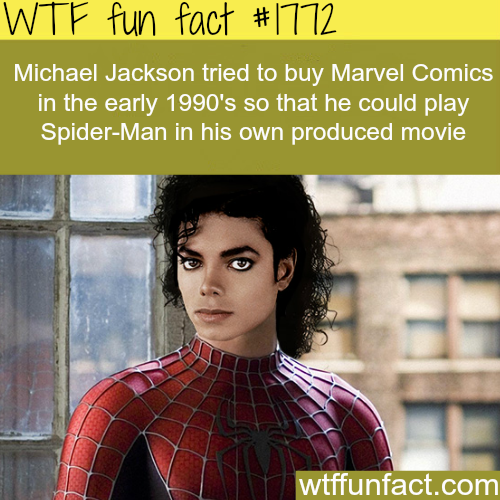 Michael Jackson tried to buy Marvel Comics - WTF fun facts