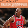michael jordan wtf fun fact