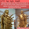 michael richards sculpture wtf fun fact