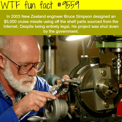 Missle Man -WTF fun fact