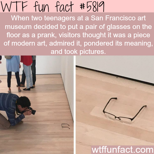 modern art wtf fun facts - WTF Facts