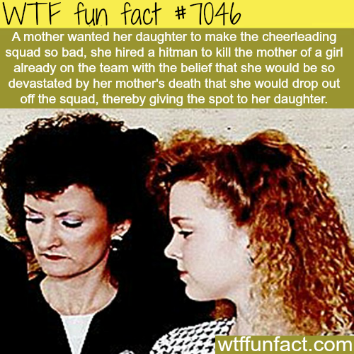 Mom hires a hitman to kill another mom… - WTF fun facts