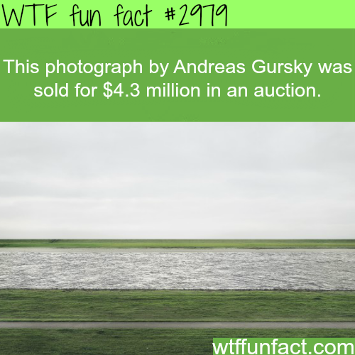 Most expensive photograph ever sold -  WTF fun facts