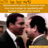 muhammad ali and saddam hussein wtf fun fact