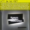 museum of broken relationships wtf fun facts