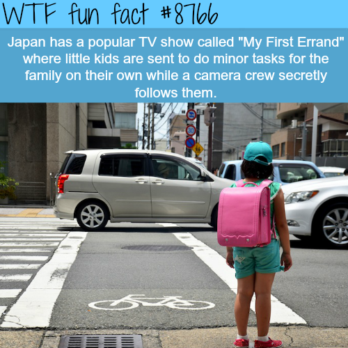 My First Errand - WTF fun facts