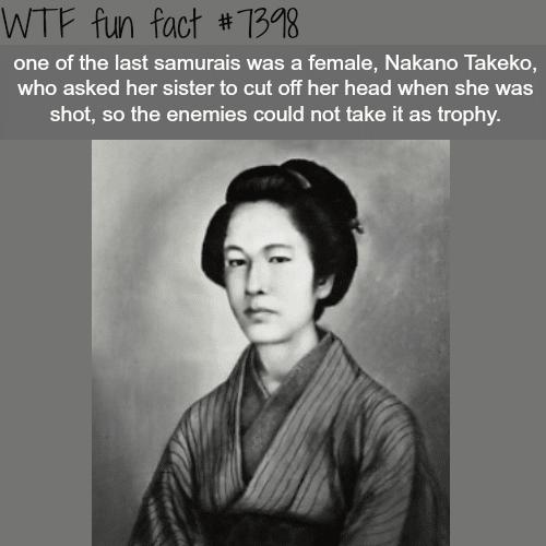 Nakano Takeko - FACTS