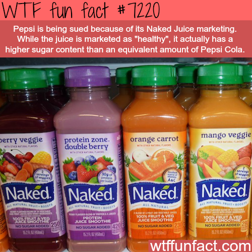 Naked Juice facts - WTF Fun Fact
