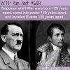 napoleon and hitler wtf fun fact