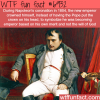 napoleons coronation wtf fun fact