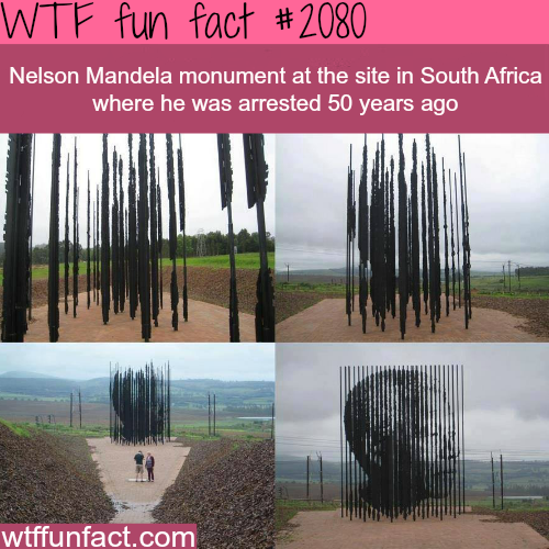 Nelson Mandela monument -WTF fun facts