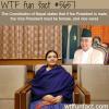 nepals president wtf fun fact