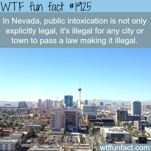 Nevada laws - WTF fun facts