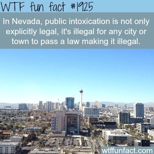 Nevada laws -WTF fun facts