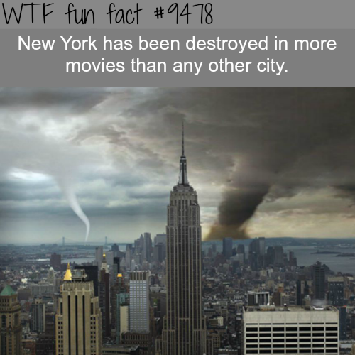 New York City - WTF fun fact