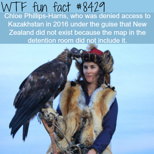 New Zealander refused entry to Kazakhstan because…- WTF fun facts
