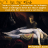 nightmare wtf fun facts
