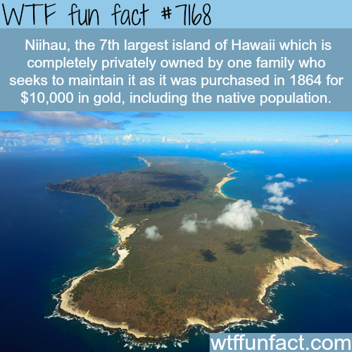 Niihau - WTF Fun Fact