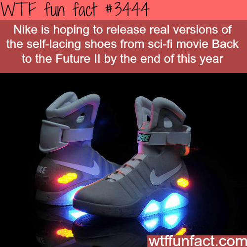 "Nike's ""Back to the Future"" -  WTF fun facts"