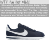 nikes cortez wtf fun facts