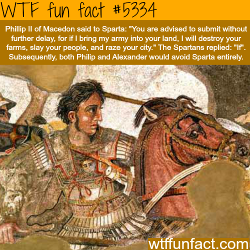No one can mess with Spartans - WTF fun facts