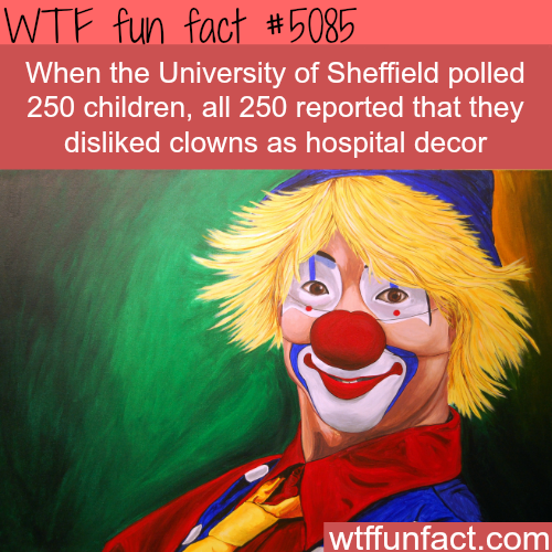 No one likes clowns - WTF fun facts