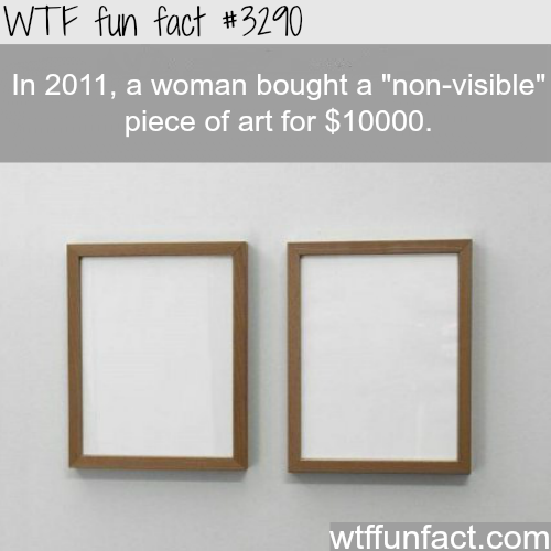 """Non-visible"" art  -  WTF fun facts"