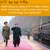 north korea has 6 trillion dollars worth of