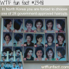 north korean government approved haircuts