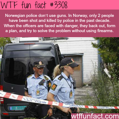 Norwegian police -WTF fun facts