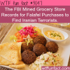 now falafel is associated with terrorists