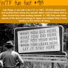 oak ridge wtf fun fact