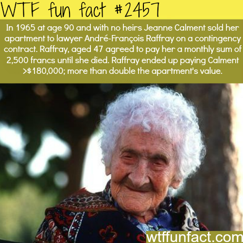 Oldest person in the world - WTF funfacts