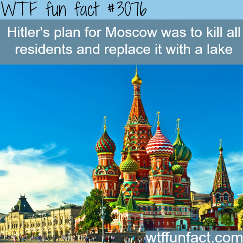 One of Hitler's craziest ideas -WTF fun facts
