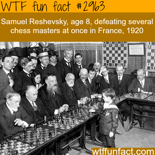 One of the best chess master in the whole world  -  WTF fun facts