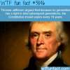 one of thomas jeffersons greatest ideas wtf fun