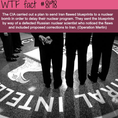 Operation Merlin - WTF fun fact