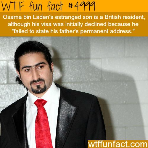 Osama bin Laden's son - WTF fun facts