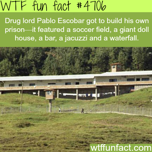 Pablo Escobar's private prison - WTF fun facts