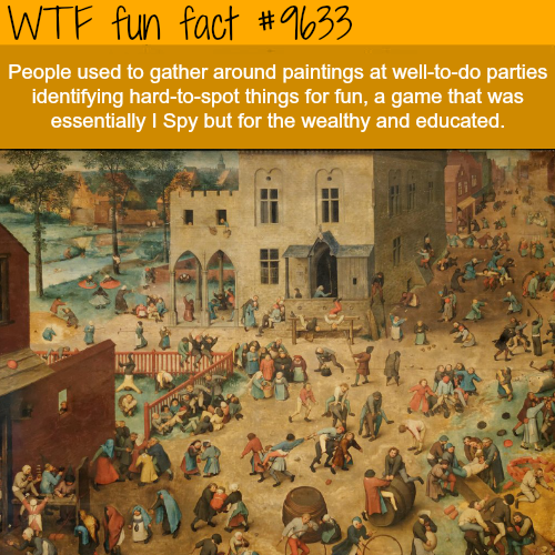 Paintings - WTF fun fact