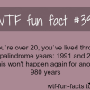 palindrome years