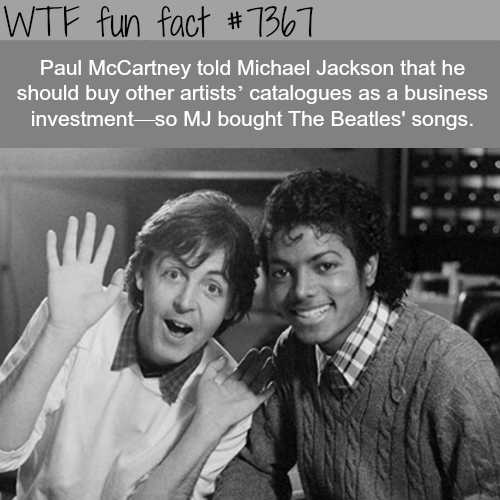 Paul McCartney and Michael Jackson - WTF fun facts