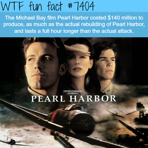 Pearl Harbor by Michael Bay - FACTS