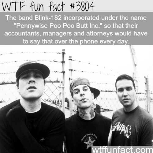 Pennywise Poo Poo Butt Inc. - WTF fun facts