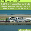 people who have the worst luck wtf fun facts